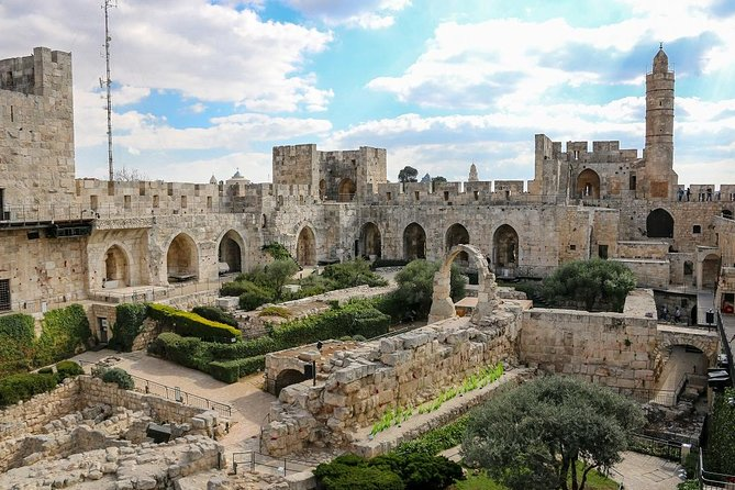 Skip the Line: Tower of David Museum Ticket, Jerusalen, ISRAEL