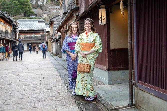 Kimono trip in historical Kanazawa, Kanazawa, JAPON