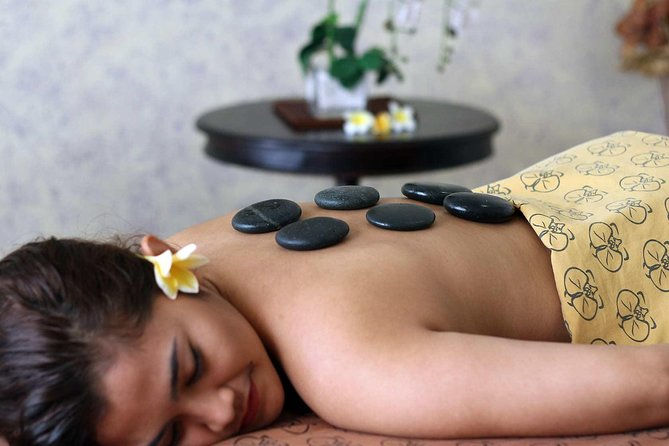Soothe away any aches and pains and complete your vacation distress with two hours of pure spa indulgence. Relax under the skilled hands of your Balinese therapist as you savor a warm stone massage. The spa is open from morning to late, and your package includes door-to-door round-trip private transfers.<br>Highlights:<br>• Perfect for couples <br>• Take a well-deserved break from the city life as you experience Warm Stone Massage<br>• Choose your preferred time and enjoy a 2 hours of Warm Stone Massage