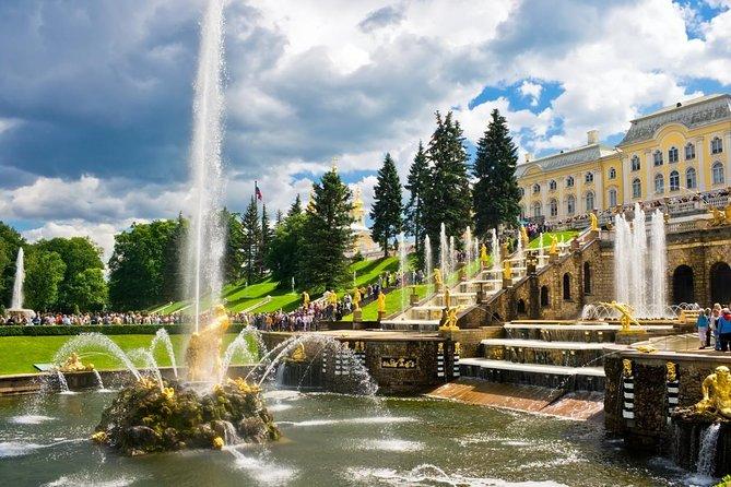 Tour a Gran Palacio de Peterhof y Palacio de Catalina, San Petersburgo, RUSIA