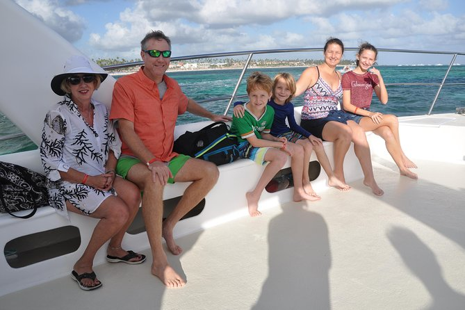 Four Adventures: Parasailing, Snorkeling Cruise, Sharks & Rays from Punta Cana, ,