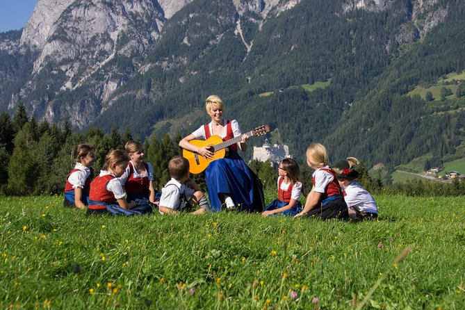 Devote a day to 'The Sound of Music' on this private, customizable 8-hour tour from Salzburg. Traveling by private minivan, trace the footsteps of Maria and the Von Trapps to one location after another, stopping for lunch (own expense) on route. Tour the 'Do Re Mi' scenes in Salzburg, see the famous gazebo, Mondsee, and 'The Hills are Alive' meadow, and absorb the Alpine scenery. Price is per vehicle, with hotel pickup and drop-off included.<br>