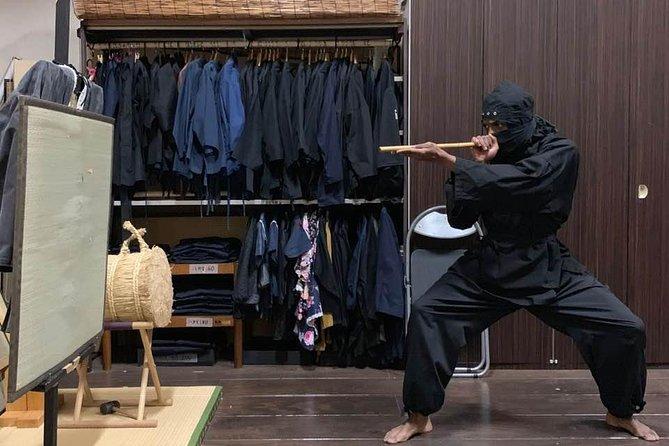 90-Min. Ninja Standard Experience : Ninja Star, Sword. Blowgun, Stealth Practice, Tokyo, JAPON
