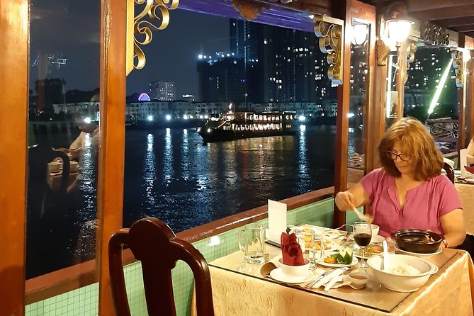 Saigon By Night Tour with Rooftop Bar and River Cruise, Ho Chi Minh, VIETNAM