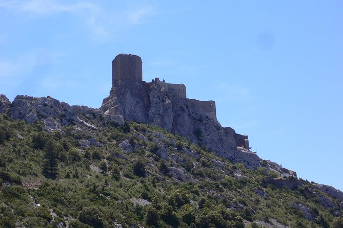 Day tour to Cucugnan, Quéribus and Peyrepertuse castles. From Carcassonne., Carcasona, FRANCIA