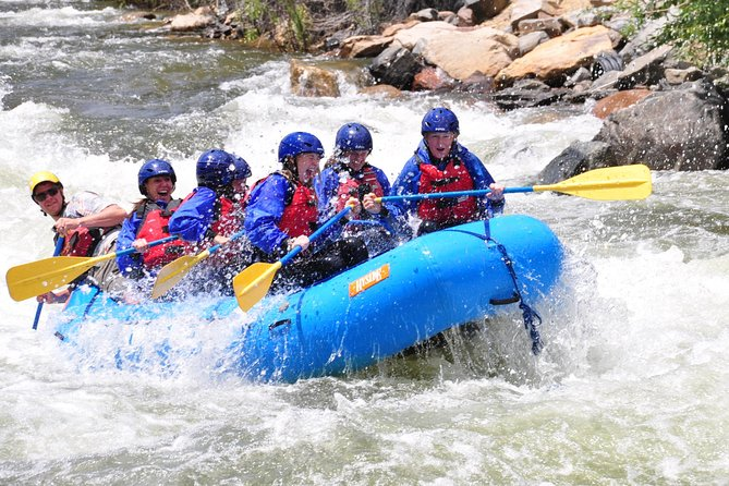 Middle Clear Creek is one of the greatest beginner rafting runs in the nation.  With numerous rapids and historical significance, it is hard to deny the value.  Although Clear Creek holds more rapids than most any other run in the US, the rapids of our Middle section are straight-forward and perfect for families with children or anyone else looking for something a bit easier.  Rafters will also catch glimpses of Colorado's rich gold mining history and maybe even a miner or two as they splash down this unique stretch of whitewater.
