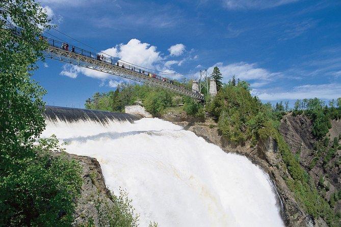 Entrada a las cascadas de Parc de la Chute-Montmorency y teleférico, Quebec, CANADA