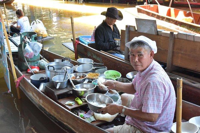 Excursión privada a los mercados flotantes de MaeKlong Damnoensaduak, Bangkok, TAILANDIA