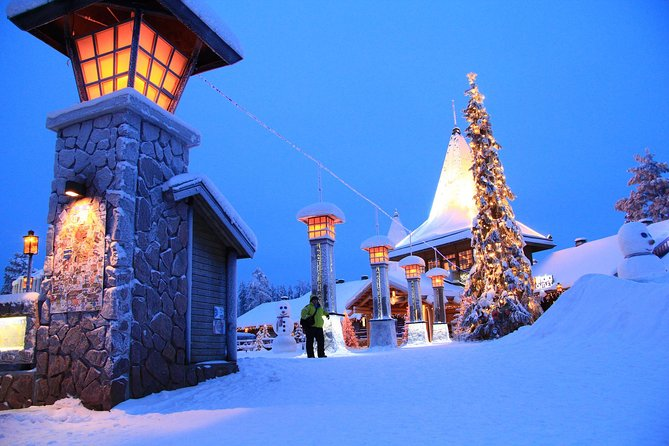 An excellent opportunity to visit original Santa Claus and his residence! <br><br>Cross the Arctic Circle, send postcards to relatives or friends with stamp from Arctic Circle. <br><br>Find out what is happening in Santa Village and to do things according to personal interests.