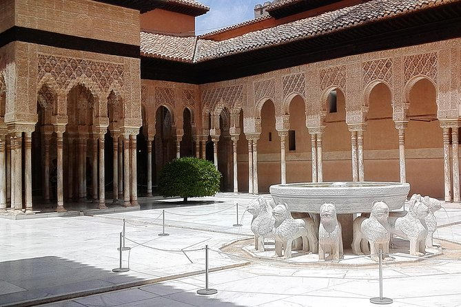 Visit Alhambra, a UNESCO World Heritage Site, and get to know the last historically Arabic city in Spain. This tour takes you back 600 years, when this fortress was reconstructed and converted into a magnificent royal palace by the Sultan of Granada in 1333. Pickup from your hotel and arrive at Alhambra. The complex offers sweeping views of nearby villages and the jagged Sierra Nevada mountain.