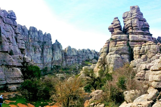 Get out in nature and see the best of Spain's natural wonders during this 4-hour guided hiking trip from Costa del Sol. Follow a professional guide through the magical El Torcal Nature Reserve in Spain's Antequera region. Look out for small animals and beautiful vegetation and snap photos of the reserve's dramatic limestone formations, many of which resemble certain shapes. Roundtrip transportation is provided from your hotel in Marbella, Malaga or other Costa del Sol towns.