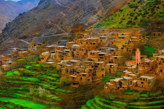 Day trip to atlas Mountains And 3 Valley & Berber Villages with Camel Rid, Marrakech, cidade de Marrocos, MARROCOS