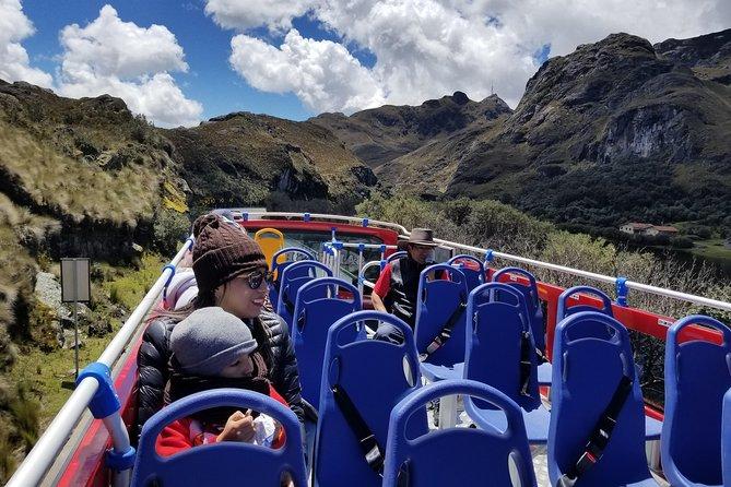 MÁS FOTOS, Parque Nacional Cajas Tour in Double Decker Bus