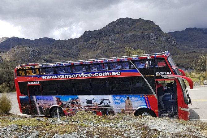 Parque Nacional Cajas Tour in Double Decker Bus, Cuenca, ECUADOR