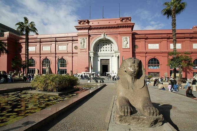 Private Day Tour to Giza Pyramids and the Egyptian Museum from Alexandria, Alejandria, EGIPTO