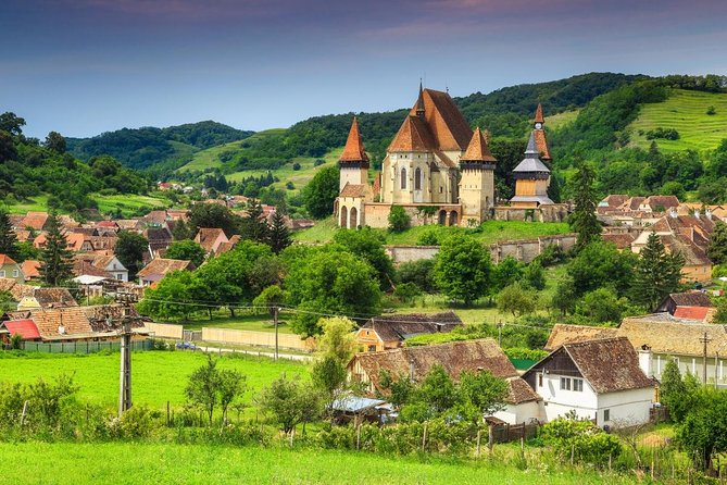 Transylvania is a land shrouded in mystery and intrigue. Discover the highlights of Transylvania on this multi-day, all-inclusive tour from Bucharest. Tick off all the top attractions in a pre-planned guided trip, saving you time and hassle. Highlights include a camera-ready panorama over the Carpathian Mountains, the castle of legendary ruler Vlad the Impaler (real-life inspiration for the Dracula legend), and walking tours of UNESCO-listed medieval cities. Plus, letting someone else drive the Transfagarasan Road—hailed as one of the most beautiful roads in Europe—allows you to spend more time focusing on the scenery.<br>