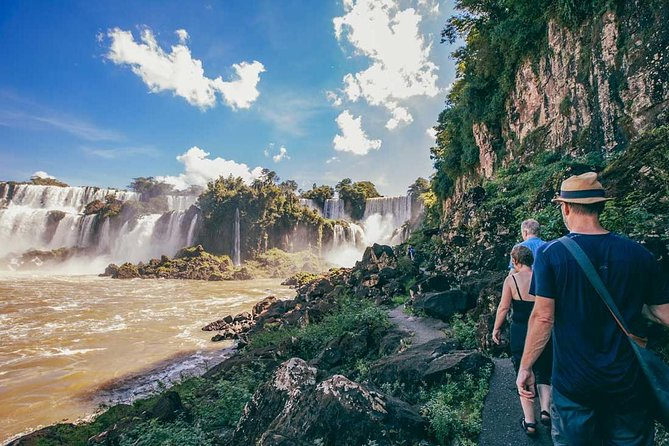 """Visit the """"Iguazu Falls"""", one of the """"World's Natural Wonders"""" declared a World Heritage Site by UNESCO. Iguazú Falls feature 270 waterfalls over 3 kilometers of tropical jungle that join the Argentinian and Brazilian borders derivates from the Amazon River and starting at a drop of water from the Andes Mountains this is a place to see.<br><br>Amongst its impressive views the jungle weather and ambient holds many natural beauties to be seen with at the Walking paths, with a chance to do Trekking and lots of walking.<br><br>Important Note: flights included in this package are in economy class, in case passenger would like to choose another category we can certainly quote and tell you how much the difference would be. <br>"""