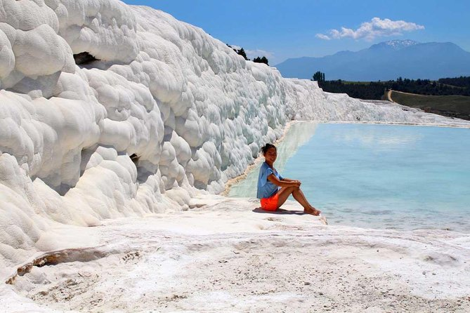 Pamukkale appears in almost every list of places to be seen before you die and visited by almost two million tourists each year.<br><br>Transfer from and back to Denizli Airport are included