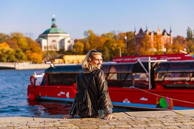 Paradas del paseo en barco con paradas libres por Estocolmo, Estocolmo, SUECIA