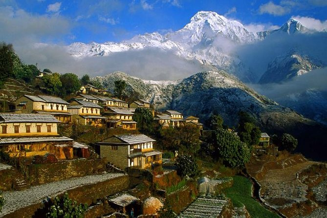 Trek into one of the popular destinations in the Annapurna region, Ghandruk. The beautiful village of Ghandruk is located in western Nepal and inhabited by Gurung community. Spectacular panorama of the Himalayas in the Annapurans can be spotted from Ghandruk such as Annapurna south, Gangapurna, Annapurna III, Hiunchuli and Machhapuchhre. There's also an old Gurung museum at the village. The trek is ideal for anyone who is looking into shorter hikes around Pokhara with easy trekking trails and no difficult ascends/descends.