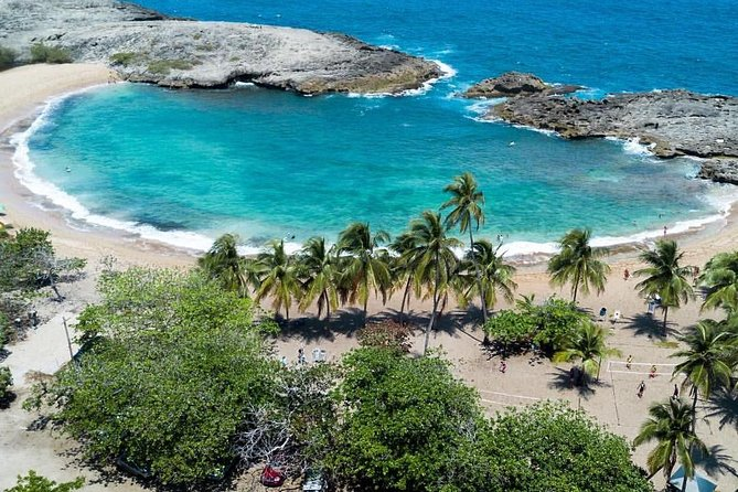 Private Mar Chiquita Beach and Birth of a New World Monument from San Juan, Arecibo, PUERTO RICO