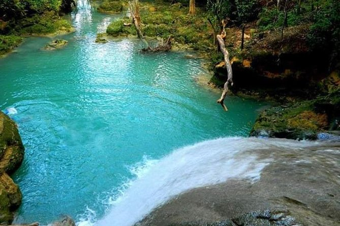 Blue Hole is unique for its natural habitat and great waterfalls, Runaway Bay, JAMAICA