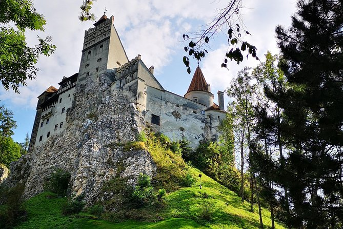 Enjoy this private and comfortable one day tour to one of the most famous castles in Romania: The Bran Castle! Long-time associated with the Dracula Legend, this medieval landmark of Transylvania is a must see and so are the other attractions that are part of the trip: The Peles Palace - the official summer residence of the Romanian Royal Family, Sinaia Monastery - a 17th century Christian Orthodox establishment, Brasov city - one of the most beautiful cities in Transylvania.