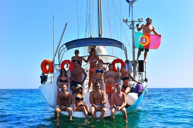 Yatch FINISMAR: 3hours Sailing to Benagil, Albufeira, PORTUGAL