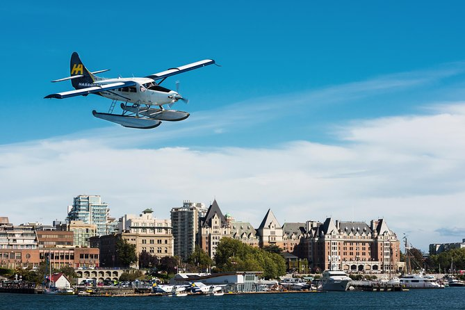 You could take the ferry or a bus to Victoria, but with all the transportation and traffic involved, it could take hours. Get to your destination in 35 minutes with this one way seaplane flight from Vancouver. As you fly over Vancouver, capture prime aerial views of Canada Place, Burrard Inlet and Stanley Park. Fly south over the Salish Sea and the Gulf Islands, and then land downtown at Victoria's Inner Harbour near the Fairmont Empress Hotel and BC Parliament Buildings.