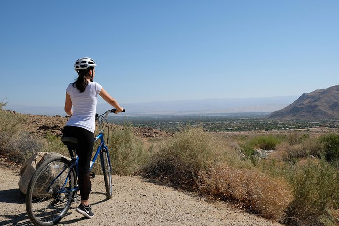 A guided bicycle tour to the culturally significant and majestically scenic Indian Canyons in South Palm Springs.