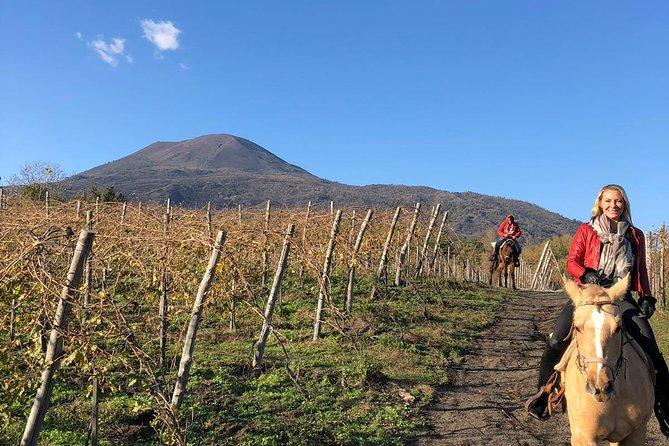 Horseback Riding on Vesuvius, Pompeya, ITALY