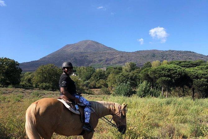 Horseback Riding on Vesuvius, Pompeya, ITALIA