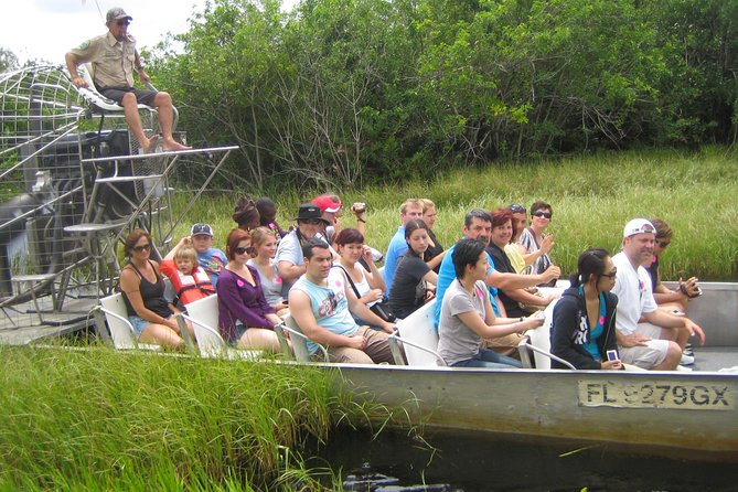 Enjoy an exciting Florida Everglades airboat adventure on this tour from Fort Lauderdale to Everglades Park. Your expert guide will navigate you through wetlands and point out alligators and other wildlife in their natural habitat. Follow your airboat tour with a live alligator show! Round-trip hotel transport is included.