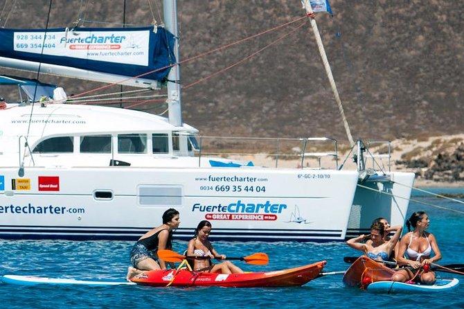 Viajes privados en barco a la isla de Lobos y a Lanzarote, Fuerteventura, ESPAÑA