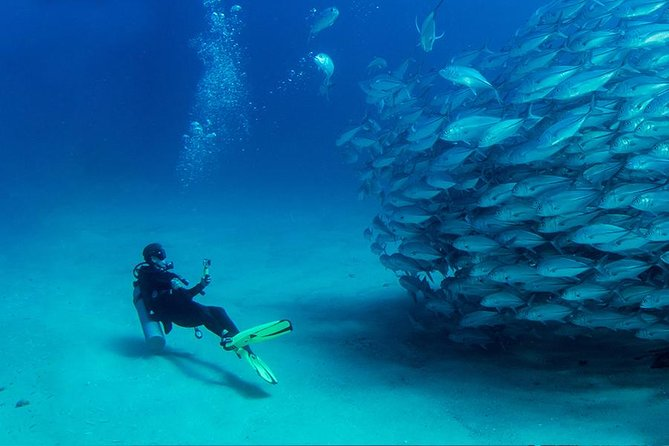scuba diving full of adrenaline., Antalya, TURQUIA