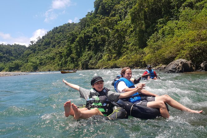 Explore Fijis spectacular highland interior by river with River Tubing Fiji. A local family owned business providing you anauthentic experience with greater insights into local ways of life.<br><br>A perfect adventure for all ages. <br> • 5. 5 hour day tour<br> • Longboat ride up the stunning and pristine Navua River<br> • Authentic Fijian village visit<br> • Waterfall swim<br> • Tubing downriver<br> • Includes lunch and return transfers.