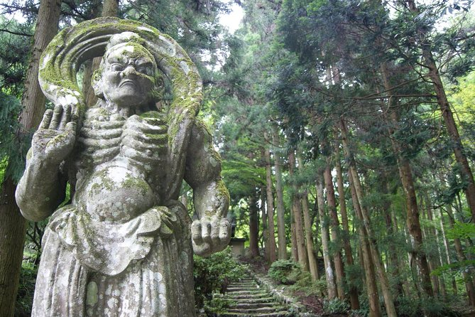 In this private tour, explore and immerse yourself in Japan's rich and unique religious culture with over 1,300 year of history in Kunisaki, Oita prefecture. English-speaking guide will kindly help you.