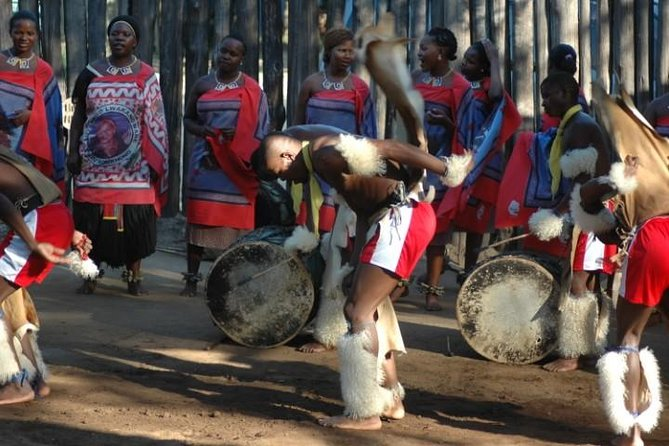 This tour will give you the inside-scoop about eSwatini for the duration of your stay.You will have close encounters with wildlife in our very intimate game parks. You will see most animals that you have not seen in other parks, and experience a serene and peaceful environment. eSwatini is known for the best cultural experience this is the best place to visit, there is not better place that you will find having the peace, safety of even a single female traveler. From the moment our friendly guides meets you from the meeting point this will be the beginning of the Swazi adventure. The guide is a certified guide and speaks relatively good English and can explain all your local questions.<br><br>There will be plenty time to mix with local people, while we are in the village of kaPhunga you will be able to try local food, go and spend time with the local sherpherd while he is collecting his livestock. Note that our tour always start in eSwatini unless a pick up is arranged.