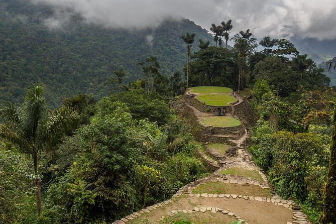 Challenge yourself on a 4-day hiking adventure through the Colombian jungle as you trek to the mythical Ciudad Perdida. Enjoy the marvelous landscapes and natural beautyof this magical place. This vigorous trekking experience traverses the unspoiled terrain of the Colombian wilderness, culminating in a visit to an impressive indigenous archaeological site from the 9th century. Your small-group tour,with a maximum of 12 participants, also includes a guide, accommodations, entrance fees, round-trip transport from hotels in Santa Marta and meals as per the itinerary.