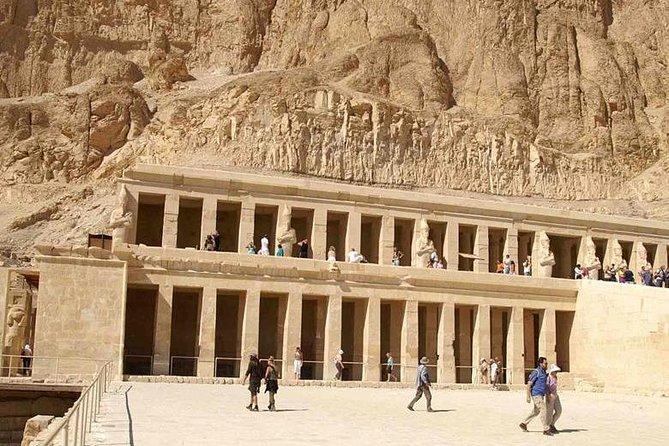 Enjoy a special 2 days tour to Luxor with small group from Safaga Port you will visit Luxor temple, Karnak temples, then go to your hotel. Next day tour to Valley of the Kings, Hatshepsut temple, Colossi of Memnon then we drive you back to Safaga Port on the second day