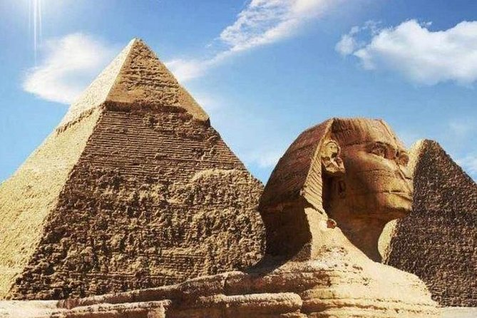 Two days one night shore excursion to Cairo from Port Said Port visiting Giza Pyramids, Memphis, Sakkara, Egyptian Museum, Old Cairo and Citadel of Cairo Includes Hotel accommodation, all transfers, escorted by certified tour guide and Lunch