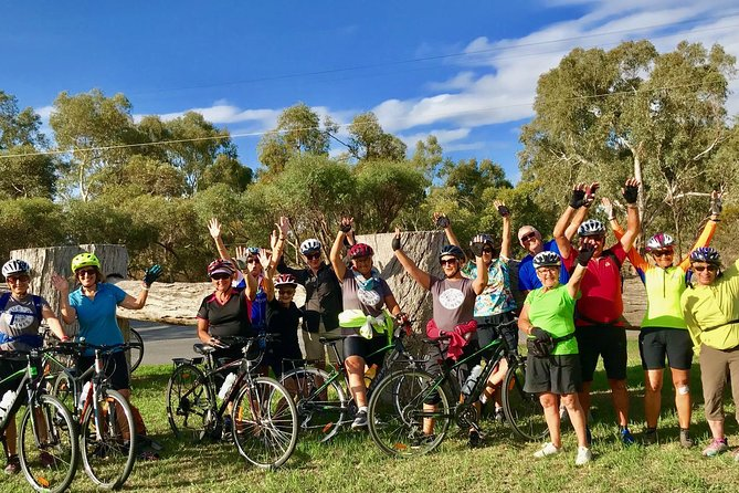 A fun, easy, guidedday tour cycling in and around the beautiful vineyards of McLaren Vale with pick up and drop off in Adelaide CBD, bikes, guide, lunch and wine tastings all included. A great fun day of relatively easy cycling, with an exclusive platter style lunch and a minimum of 2 cellar door wine tastings. Explore some of the secret spots of the 'Vale' as it's known by locals, sample some of Australia's best wines and enjoy the scenic cycling in this gorgeous seaside region.