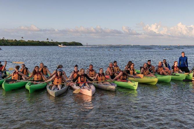 Recorrido nocturno en kayak por la bahía bioluminiscente a las 18.00 h | Laguna Grande, Fajardo, ,