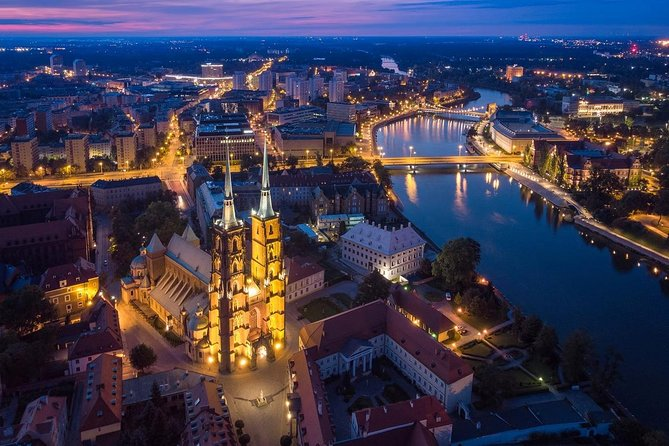 Famous Islands of Wroclaw - Cathedral Island and Sand Island, Breslavia, POLÔNIA
