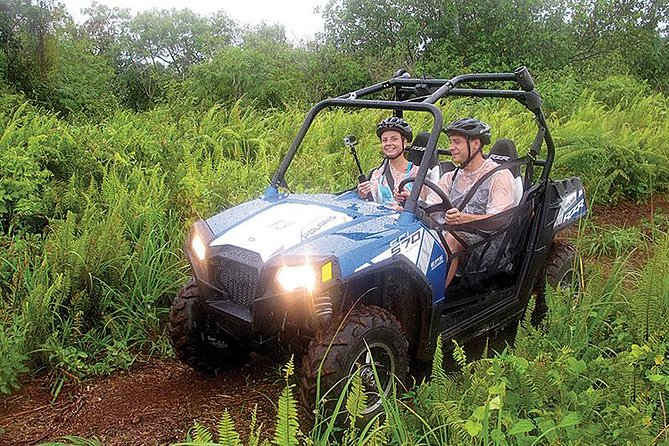 Get behind the wheel of a Buggy or ATV and drive through jungle trails on the North Coast of Guam at the Guam International Raceway and Off Road Park.  This bumpy trail ride is limited to small groups and your guides will teach you how to safely operate these vehicles.  Capture breathtaking views of the Marianas Trench  Your ride also includes a free transfer courtesy bus from your centrally located accommodations in Guam.
