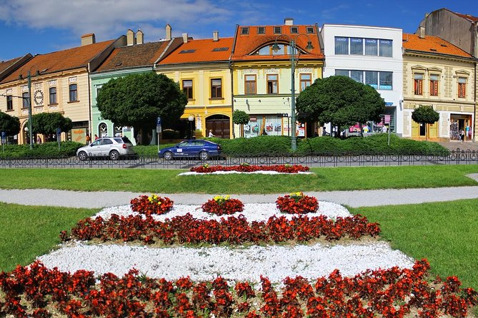 Prešov is the town with an interesting past and dynamic present and mixed Slovak, Polish, Ukrainian and Ruthenian population is the metropolis of the north-eastern Slovakia. Prešov is the centre of the Eastern District of the Evangelical Church of the Augsburg Confession and the educational centre of the region. The buildings in the historic centre are parts of the Town Monument Reserve. The monuments of Prešov are concentrated into its historical core stretching around Hlavná ulica street, which widens into the spindle-shaped square. Its dominant is the parish church of St. Nicholas from the mid-14th century with a tall tower reconstructed in the Gothic style.