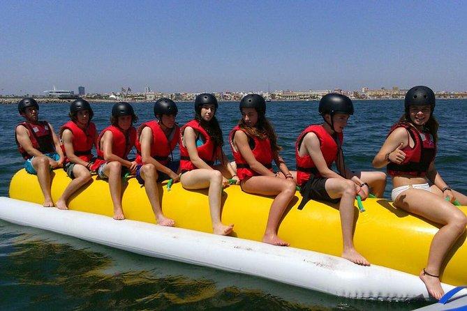 Marbella Banana Boat, Puente Romano Beach with the best Fun!, Marbella, ESPAÑA