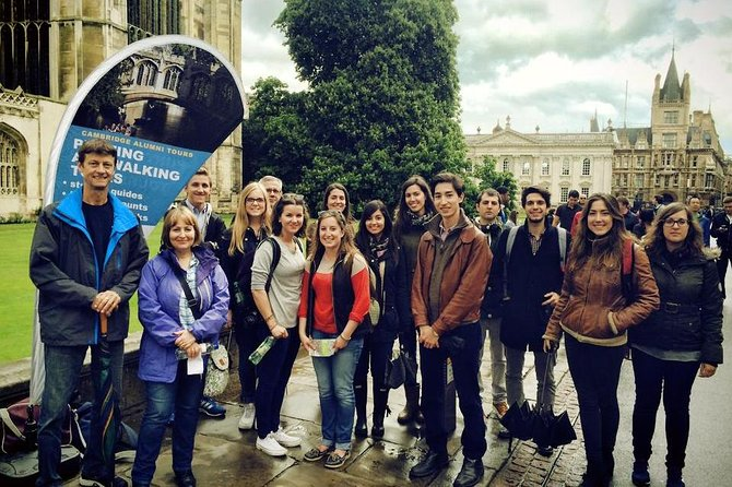 A Cambridge University graduate or student-guide will take you on a 90-minute enthralling journey through time as we recount to you the colourful story of Cambridge and its famous university while providing a deep insight into Cambridge student life.<br><br>This tour is ideal for prospective students and school groups who would like to know what it takes to study at Oxbridge. Also, we aim to provide a guide who has studied the same subject of your interest.