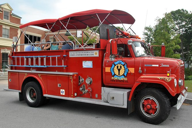 This 50-minute sightseeing tour is a fun and unique way to discover Portland, Maine. Board a Vintage Fire Engine and travel back in time as your knowledgeable guide helps relive Portland's colorful history from a local's perspective. See lighthouses, Civil War forts, city parks and buildings, interesting stories and a multimedia experience packed with historic images of Maine. This is one family-friendly tour you should not miss out on!