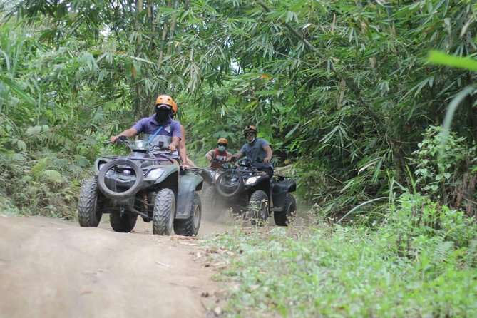 Quad bike/ATV is really amazing adventure and very safe for everyone. this program combined Quad bike adventure with Flying fox adventure, so not only explored the beauty of nature by land also you can have a look from the sky. i guarantee you will get an awesome adventures during you stay in bali. All equipments i used is Safety standard and i make sure you will safe and comfortable during you do this adventure.